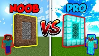 Minecraft NOOB vs. PRO: DIMENSIONS in Minecraft!