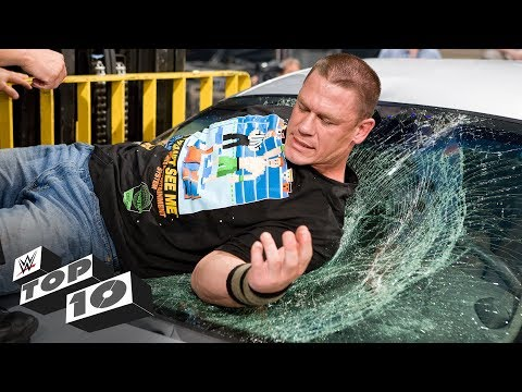Xxx Mp4 Superstars Get Thrown Through Glass WWE Top 10 Nov 19 2018 3gp Sex