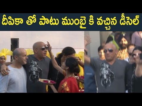 Xxx Mp4 VIN DIESEL ARRIVES IN INDIA AT MUMBAI AIPORT WITH DEEPIKA PADUKONE XXx Movie Promotion 3gp Sex