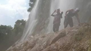 waterfall bisheh the iran