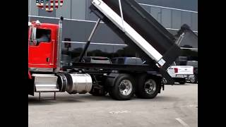 T800 Kenworth Truck Equipped With A Roto Dump Rotating Body!