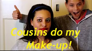 Cousins do my make-up !  | Casual Beauty UK