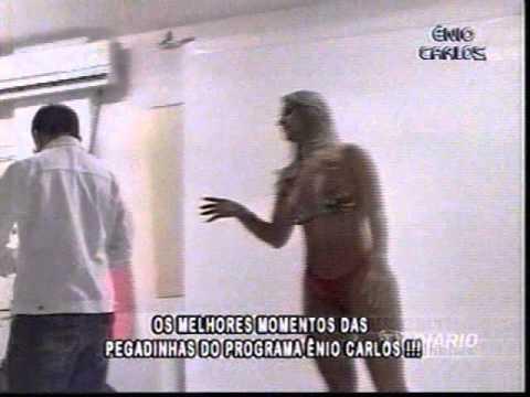 Ênio Carlos. Pegadinha com a Jamile Lima