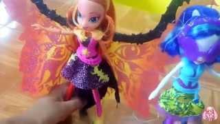 Unboxing My Little Pony Equestria Girls Rainbow Rocks Sunset Shimer Y Dj-Pon 3 Especial Día Del Niño