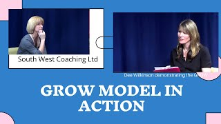 The GROW model in action