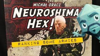 Neuroshima Hex: Ranking Some Armies - with Zee Garcia