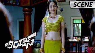 Manchu Manoj Rescues Sheena From Bull - Bharath Superb Comedy - Bindaas Movie Scenes