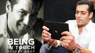 (VIDEO) Salman Khan Reveals The REAL Reason Of Launching Being In Touch App