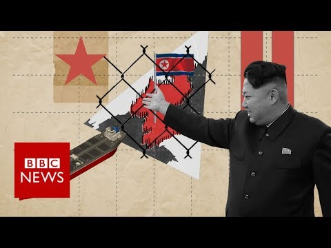 Xxx Mp4 How Is North Korea Evading Sanctions BBC News 3gp Sex