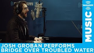 "Josh Groban Performs ""Bridge Over Troubled Water"" Live at SiriusXM"