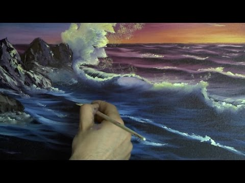 Sunset Sea Painting Lesson