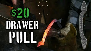 Forging Drawer Pulls [Blacksmith Projects that Sell]