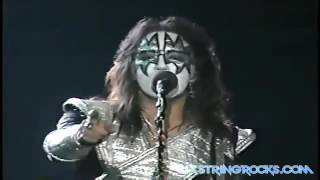 Kiss live in New York City Madison Square Garden Reunion Tour 1996