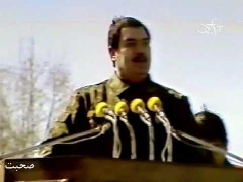 Dr.Najibullah dar marshe Azim Charaie Ariana بیانیۀ دکتور نجیب الله در چارراهیِ آریانا جریان مکمل