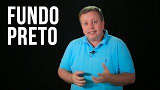 Como gravar videos com Fundo Preto