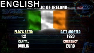 Republic Of Ireland -  Western Europe- Flags Of The World - Pre School-Animation Videos For Kids