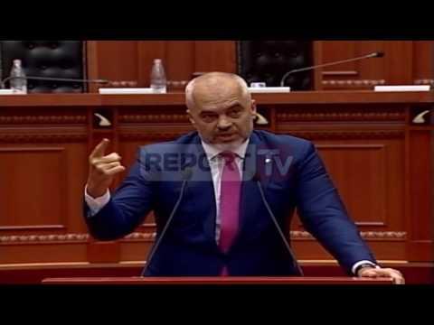 Report TV Batutat në kuvend Rama Topallit Të ka zili dhe Tinka Kurti kur aktron