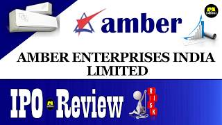 Amber Enterprises IPO - हिन्दी मे ! Amber Enterprises India Limited ! Upcoming IPO In Hindi