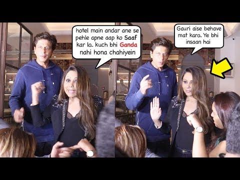 Xxx Mp4 Shah Rukh Khan 39 S Wife Gauri Khan Shows Sh0cking ATTITUDE To Media At Launch Of New Restaurant 3gp Sex