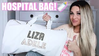 WHAT'S IN MY HOSPITAL BAG FOR BABY #2 | Liza Adele
