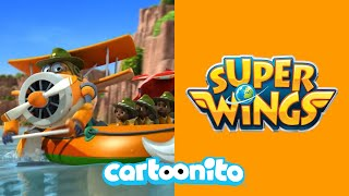 Super Wings | Whirlpool Danger! | Cartoonito