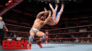 Jason Jordan vs. Curt Hawkins: Raw, July 24, 2017