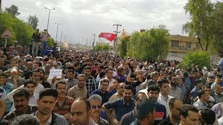 Iran: Day 2 of protests by thousands in Kazerun