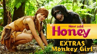 Now Add Honey - Monkey Girl Clip