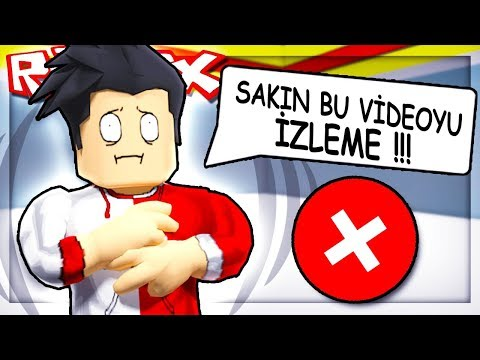 SİMON DERKİ SAKIN BU VİDEOYU İZLEME !!! / Roblox Simon Says / Roblox Türkçe