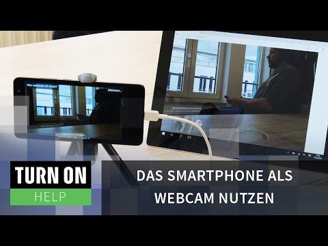 Das Smartphone als Webcam nutzen TURN ON Help