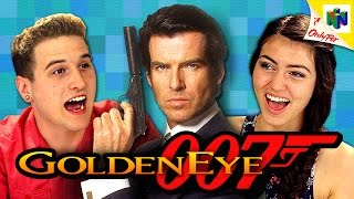 GOLDENEYE 007 (N64) (Teens React: Retro Gaming)