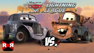 River Scott VS Mater - Cars: Lightning League - iOS / Android Gameplay