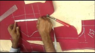 How To Cut Blouse(Choli):Choli Cutting Method Step By Step