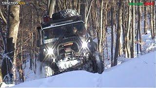 Jeep Grand Cherokee WK vs Jeep Wrangler JK vs Land Rover @ Rudnik mountain by Top Đir