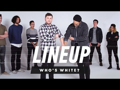 People Guess Who is White In a Group of Strangers Lineup Cut