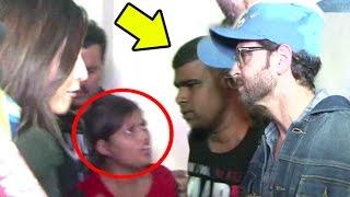 Female Reporter Shouts At Hrithik Roshan