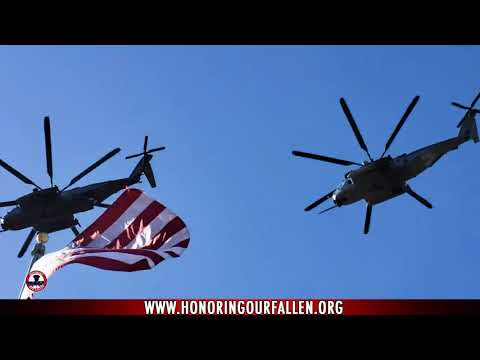 GySgt Holley Angel Flight and Military Honors