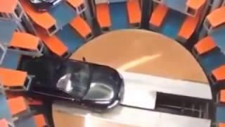 #فيديوهات_عالمية | موقف السيارات مرعب تحت الأرض تكنولوجيا غريبة وعجيبة