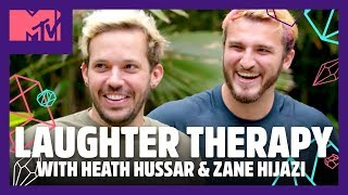 Trying Laughter Therapy w/ Zane and Heath 😂 | Spencer Pratt Will Heal You 🔮| MTV