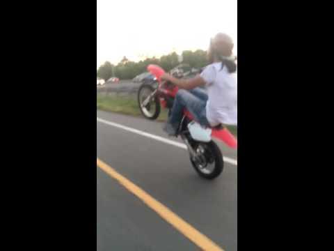 Cr85 wheelie