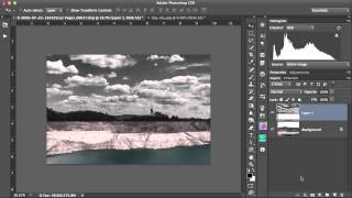 Replacing Skies In Photoshop Using The Blend IF Sliders