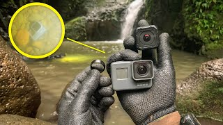 I Found an Apple Watch, 2 GoPros, 3 Wedding Rings and a CRASHED DRONE Under a Waterfall in Hawaii!
