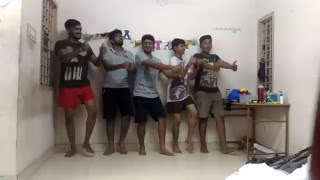 Dwayne Bravo - Champion song dance from by Hostel Guys