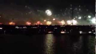 World's Largest Fireworks At Palm Jumeirah On New Year's Eve