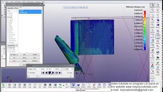 Simulation of milling process in the LS-DYNA. Video tutorial (incomplete)