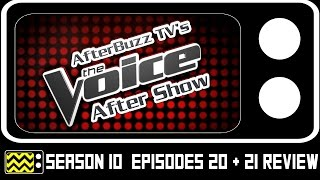 The Voice Season 10 Episodes 20 & 21 Review & After Show | AfterBuzz TV