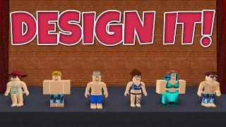 Roblox Adventures / Design It / Naked Beach Body?!
