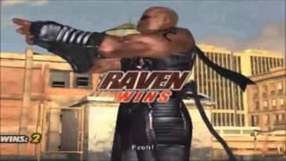 Tekken 5: Raven All Intros & Win Poses