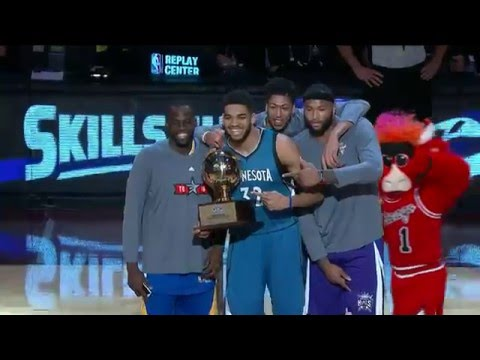 Karl-Anthony Towns Wins Taco Bell Skills Challenge