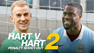 KEVIN HART v JOE HART | Penalty Shoot-Out Part 2